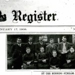 1908 Hargleroad article in The Chambersburg Register