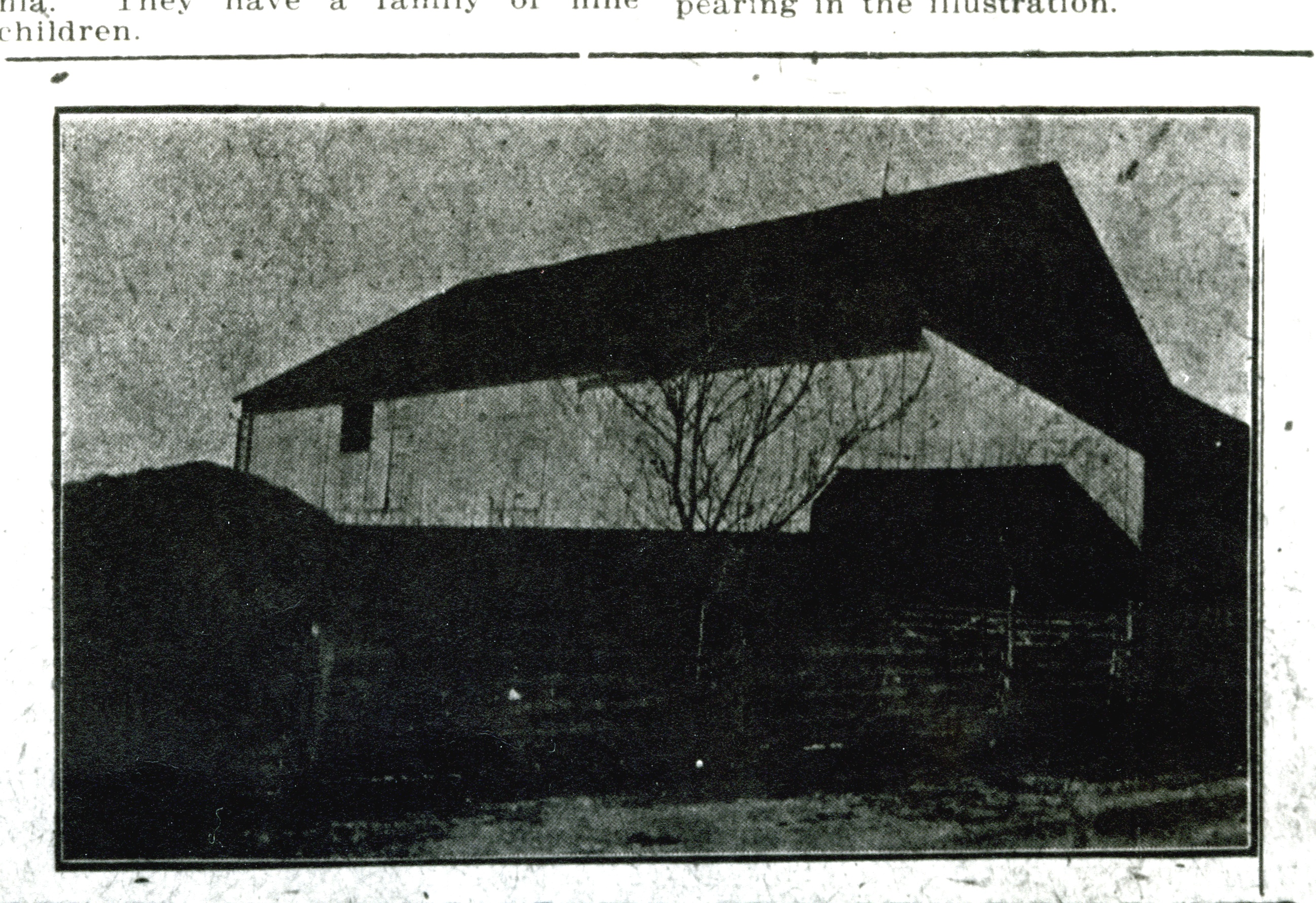 Hargleroad farm in 1908, Guildford Springs, PA