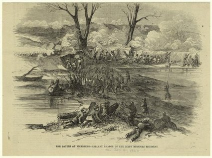 Battle at Vicksburg